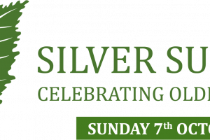 Silver Sunday 2018: landscape logo with date