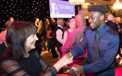 A Celebratory Tea Dance for 1,000 Older Guests